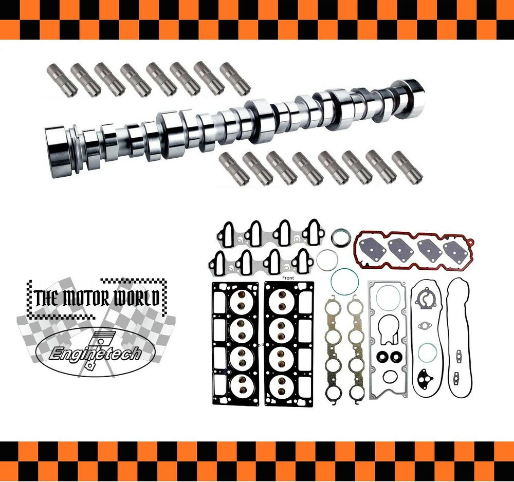 1999 Chevrolet S10 Regular Cab Camshaft: 2006 GM GMC Chevrolet 4.8 5.3 Camshaft, Lifters And