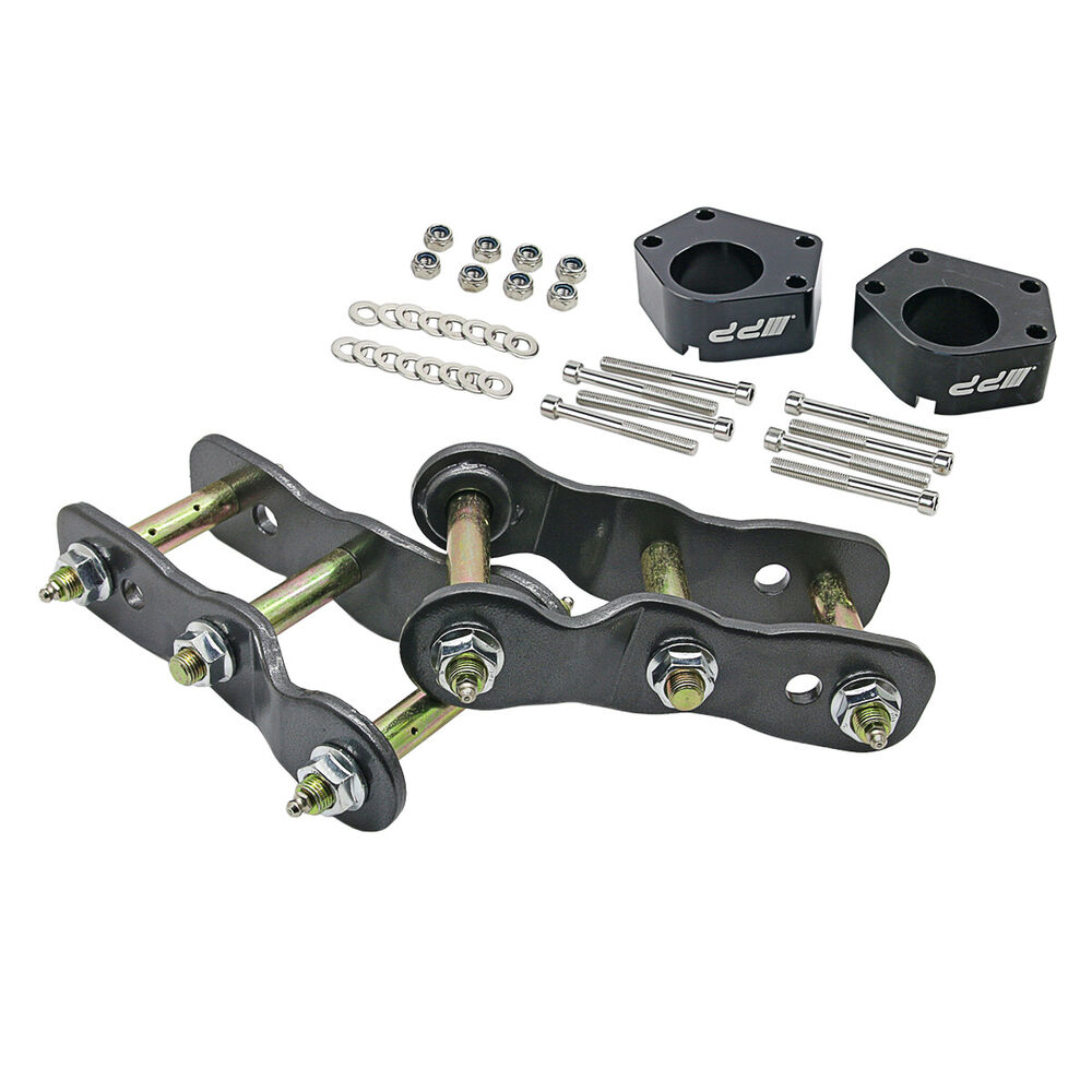 2 Quot Rear Shackles Ball Joint Spacer Lift Kit For Toyota