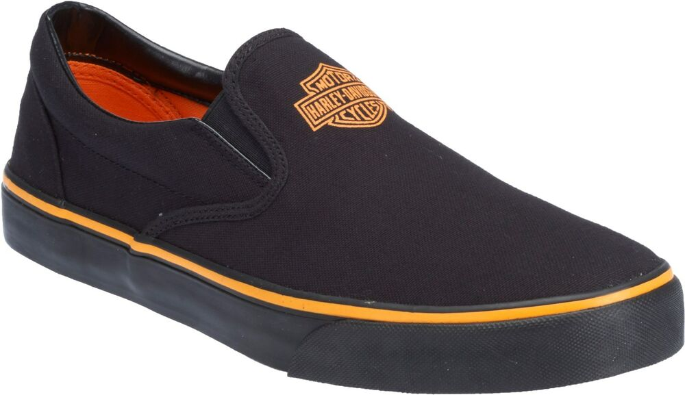 Mens Harley Davidson Slip On Shoes