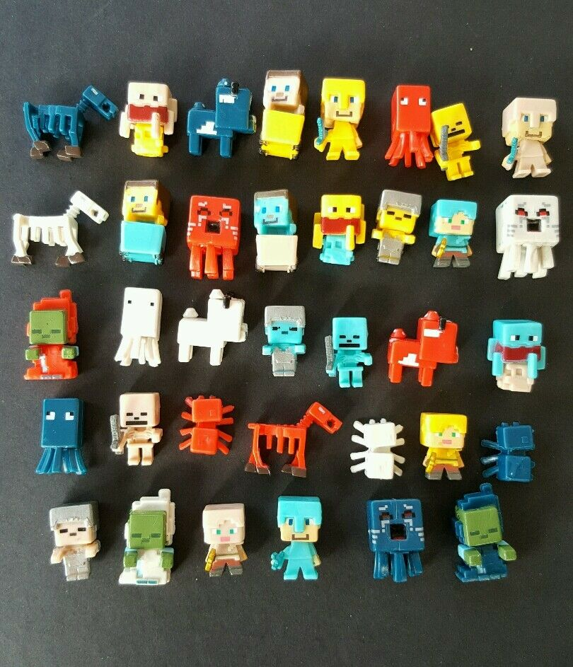 Minecraft Toys And Mini Figures For Kids : New minecraft steve minifigure action figures plastic