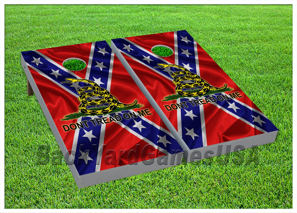 Vinyl Wraps Cornhole Beanbag Boards Red White Blue Stars