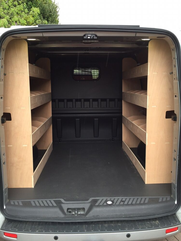 Ford Transit Custom Crew Double Cab L2 Crew Van Racking