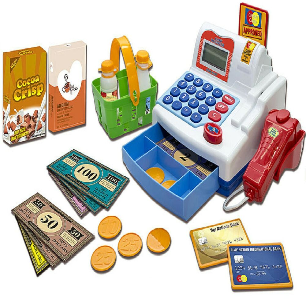 Electronic Learning Toys For Toddlers : Educational toys for girls boys toy cash register