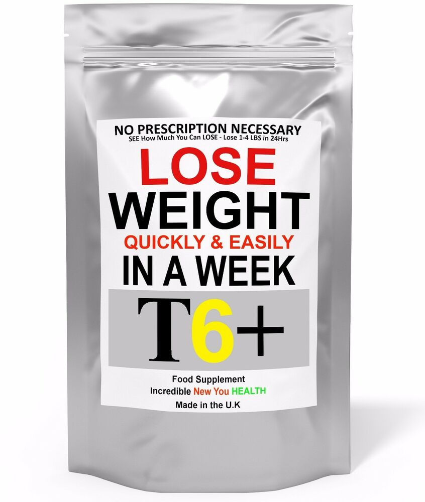 T6+ Very Strong Slimming Weight Loss Tablets Extreme Legal ...