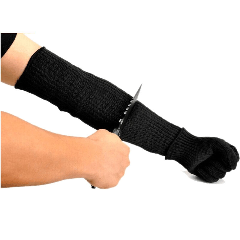 Butcher Cut Resistant Gloves Safety Arm Sleeves Steel Wire