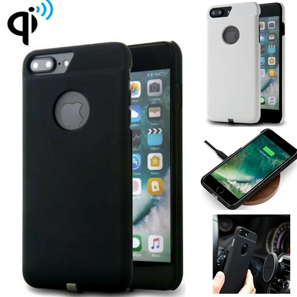 2017 qi wireless charger cases for iphone 6 7 plus. Black Bedroom Furniture Sets. Home Design Ideas