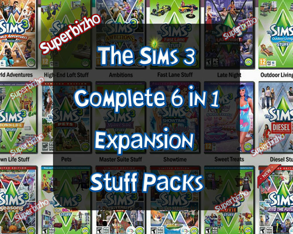 how to play expansion packs sims 3