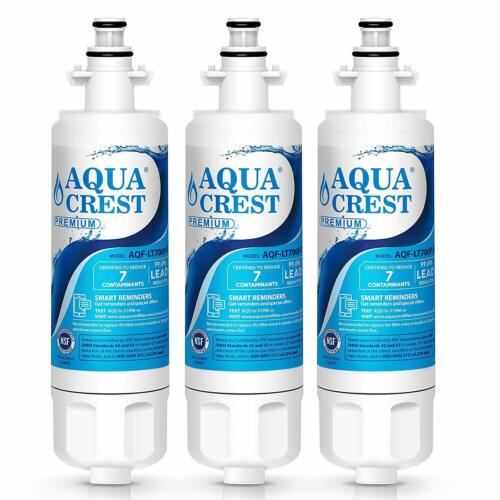 Refrigerator Water Filter 3 Pack Kenmore 469690 LG ADQ36006102 Parts Accessories