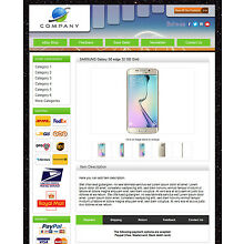 eBay Responsive Listing Template with Software, eBay 2018 Policy Compliant