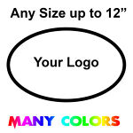 Custom Logo Sticker - Vinyl Die Cut Decals Your Company Business Logo ANY COLOR