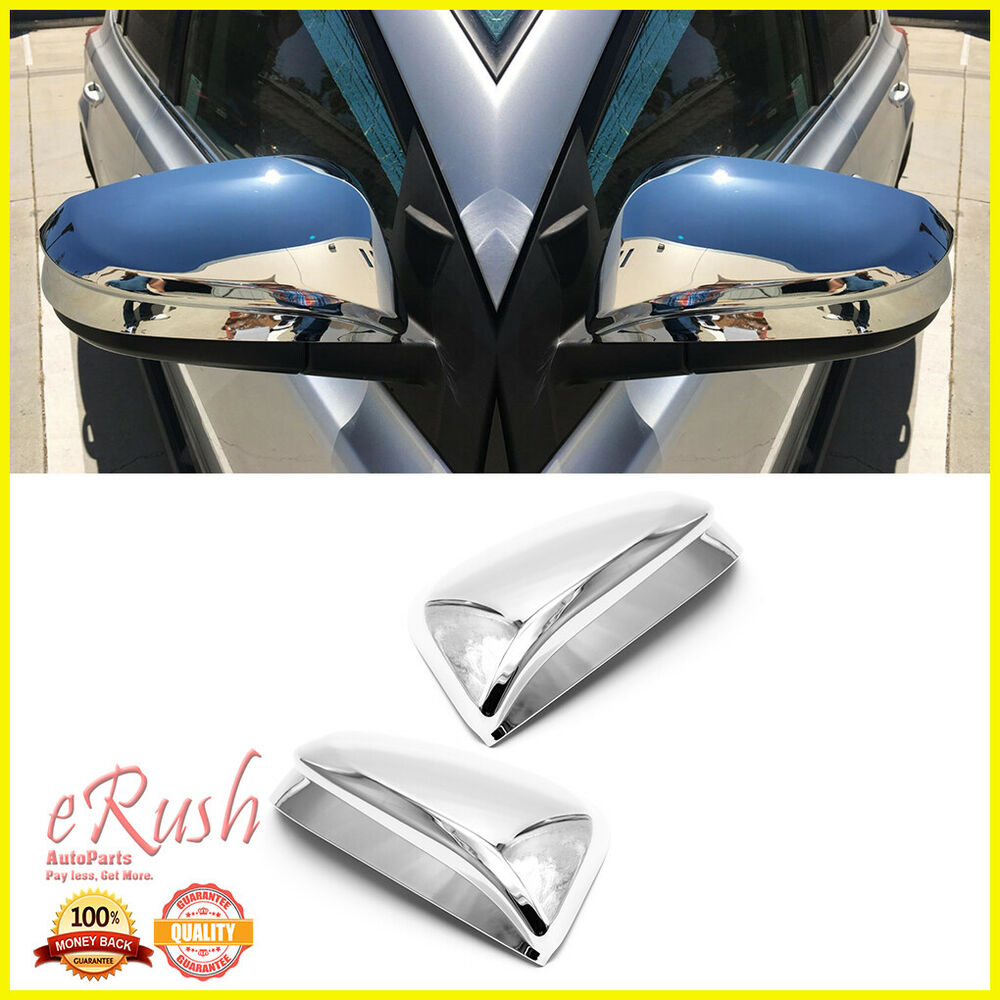 For 2013 2014 2015 2016 Toyota Rav4 Chrome Side Mirror