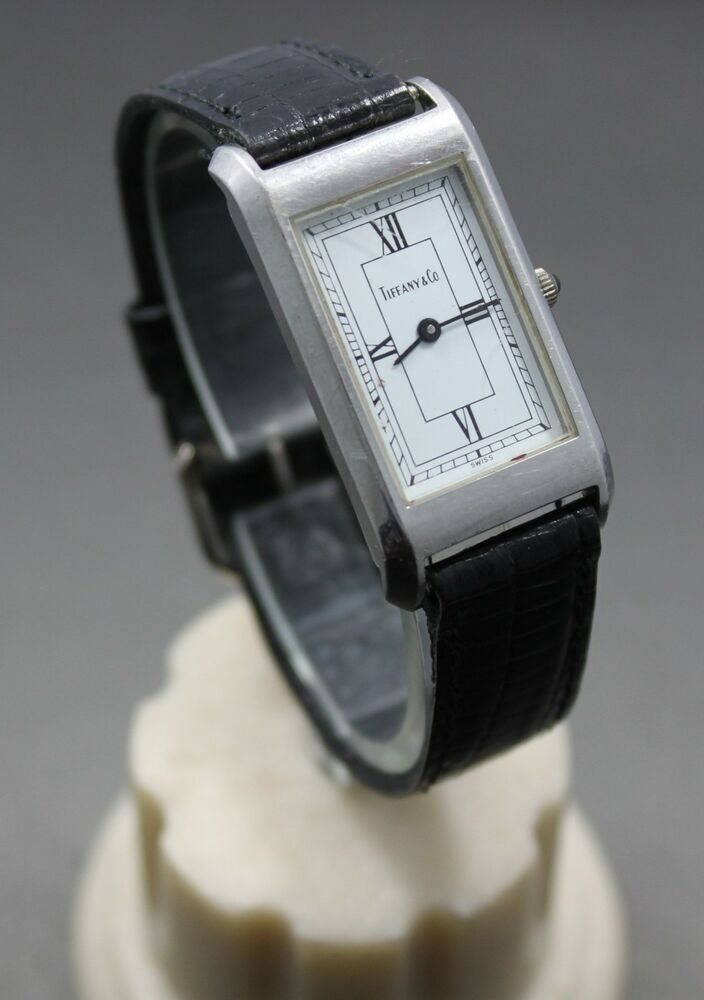 Tiffany co vintage quartz watch ebay for Watches on ebay