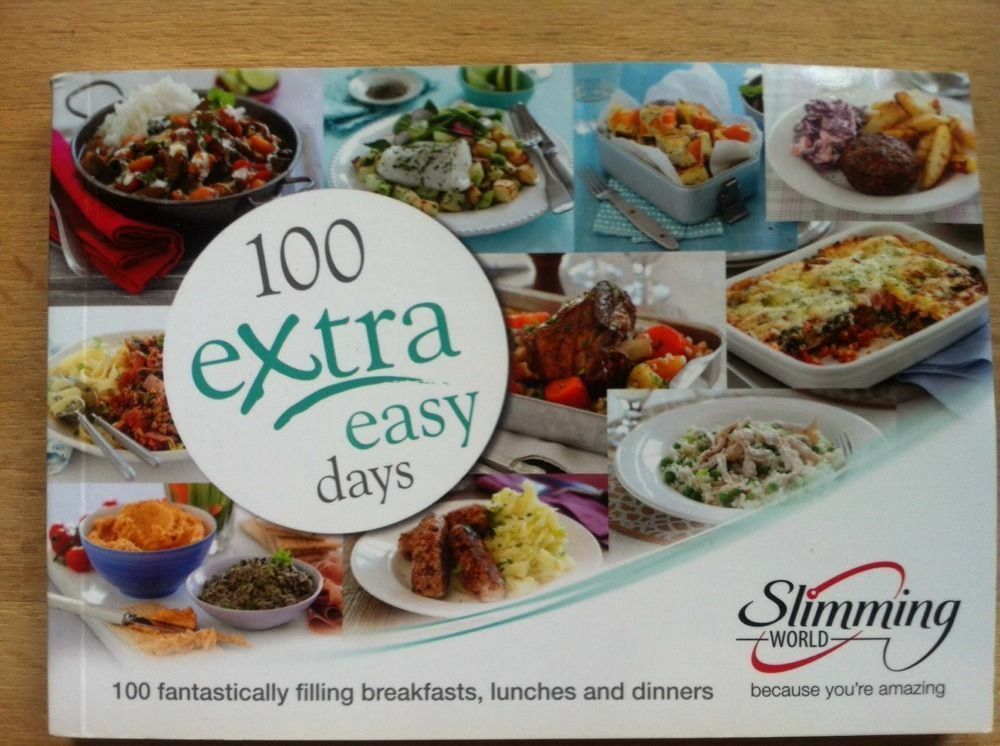 Slimming World 100 Extra Easy Days 300 Great Food Optimising Meal Ideas Ebay: simple slimming world meals