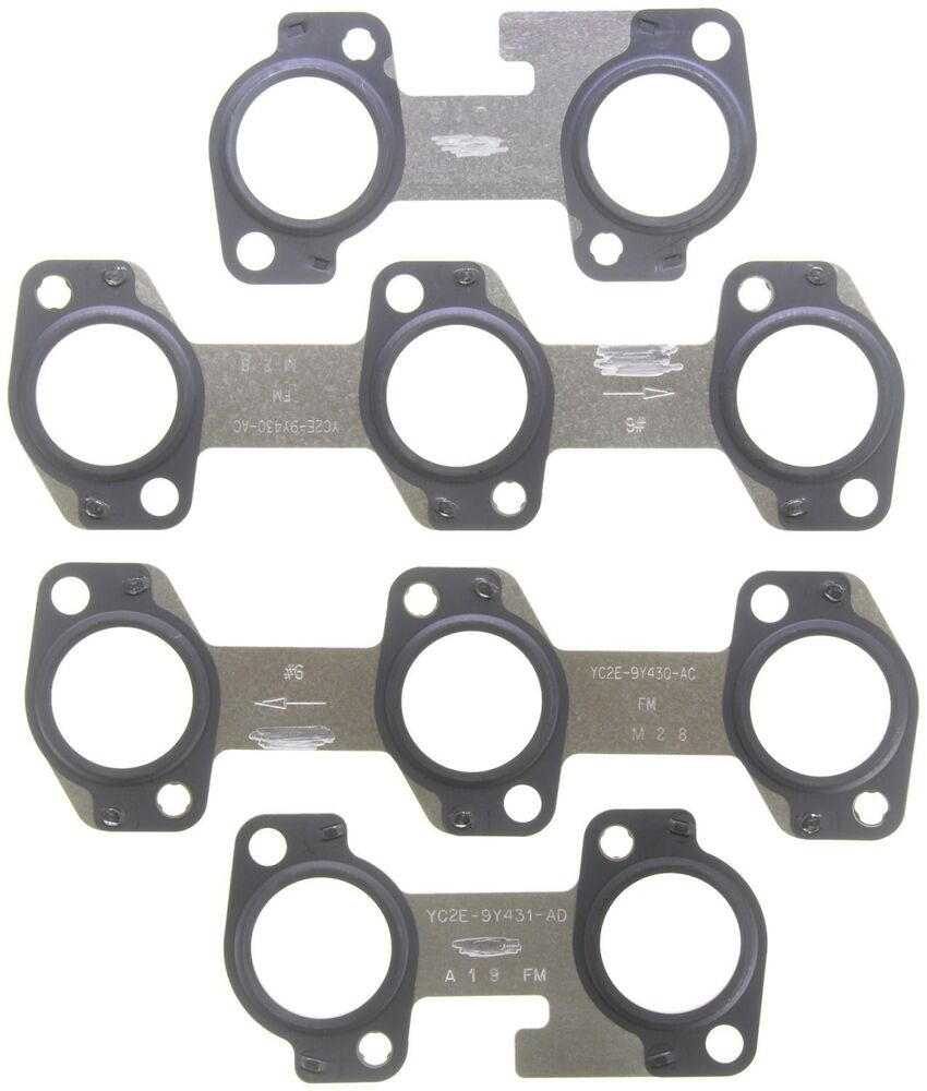 Ford Gasket: Exhaust Manifold Gasket Set MAHLE Fits 99-14 Ford E-350