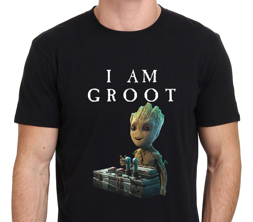 I Am Groot, Baby Groot Gurdian of The Galaxy 2 Funny T ...