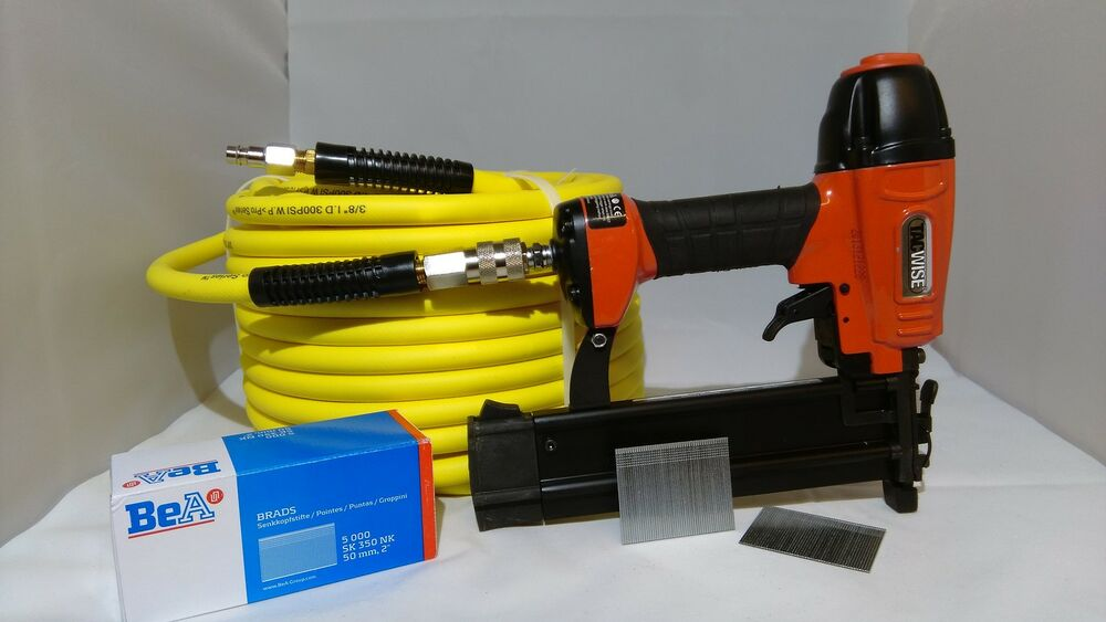 TACWISE DGN50V 18 GAUGE BRAD AIR NAILER WITH 10M AIR HOSE ...