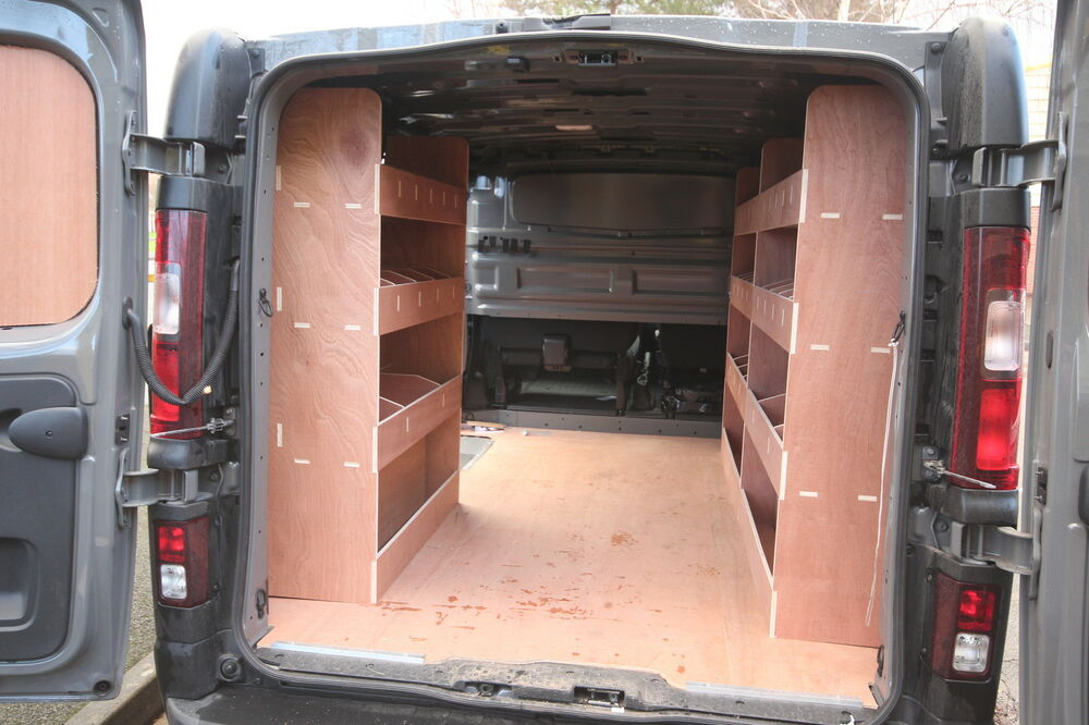 Vivaro Swb Van New Model Plywood Shelving Plywood