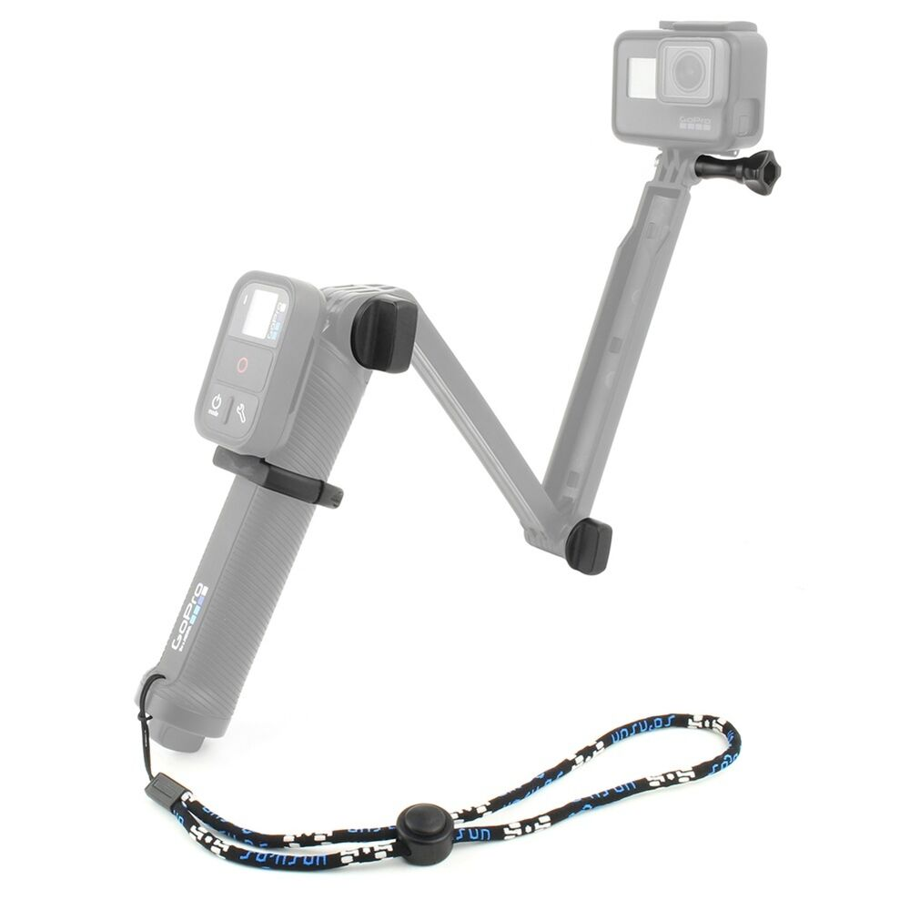 wifi remote adapter mount replacement screw wrist strap for gopro 3 way grip ebay. Black Bedroom Furniture Sets. Home Design Ideas