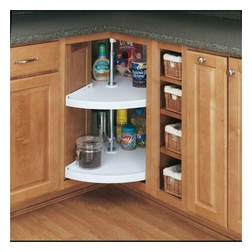 Shelves For Kitchen Cabinets: Rev A Shelf Lazy Susan 2 Storage Shelves Kitchen Cabinet