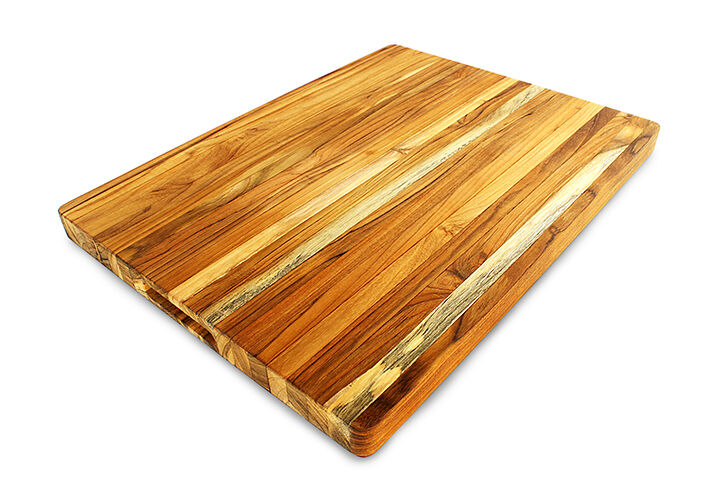 terra teak extra large cutting board 24 x 18 x 1 5 inch ebay. Black Bedroom Furniture Sets. Home Design Ideas