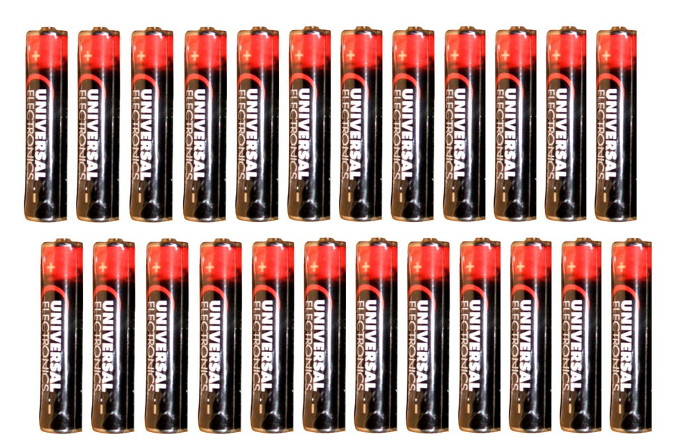 new universal electronics aaa batteries 1 5v pack of 24 batteries ebay. Black Bedroom Furniture Sets. Home Design Ideas