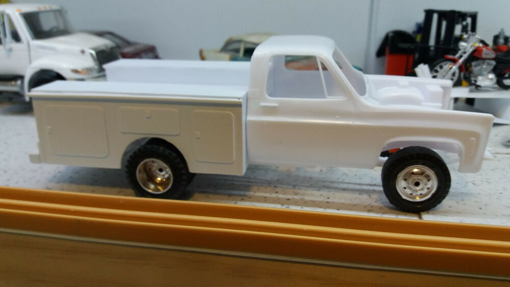 Scale Resin Model Car Parts