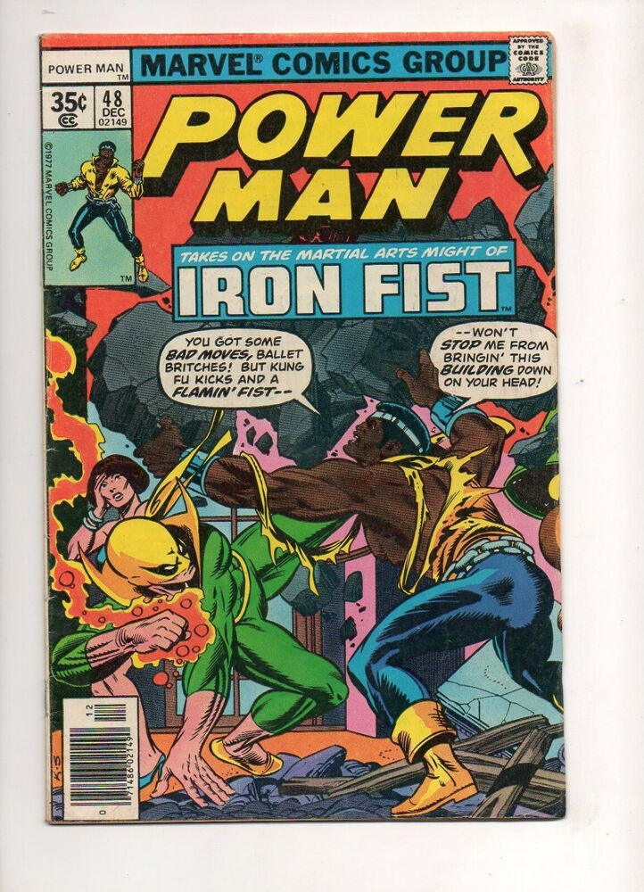 luke cage and iron fist meet