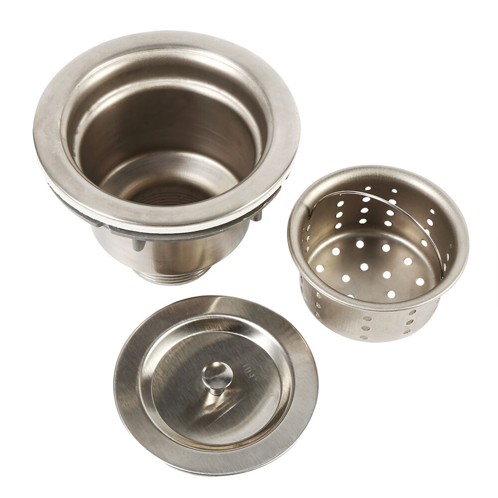 Stainless Steel Sink Drain Strainers With Filter Basket
