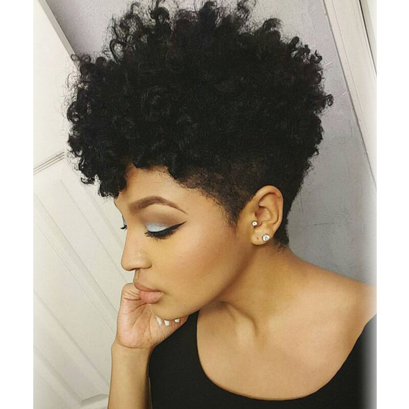 Fashion Short Curly Wigs For Black Women African American