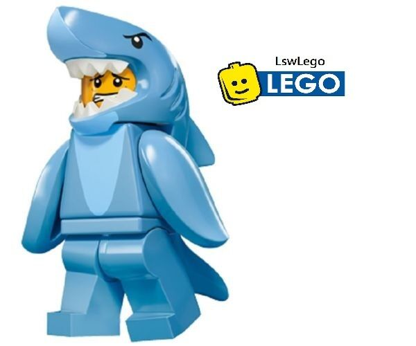 Lego Shark Toys For Boys : Lego minifigures shark guy series new in hand