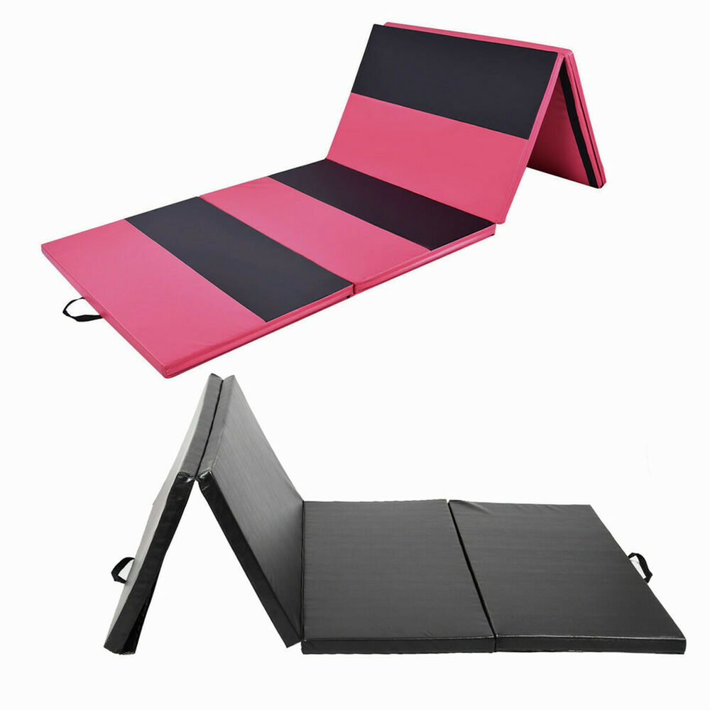 6FT/10FT Folding Gymnastics Tumble Mat Yoga Exercise