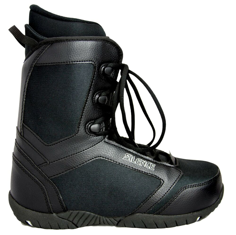 new 140 mens silence fs high end black snowboard boots