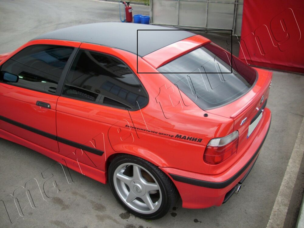 rear window spoiler bmw e36 compact ebay. Black Bedroom Furniture Sets. Home Design Ideas
