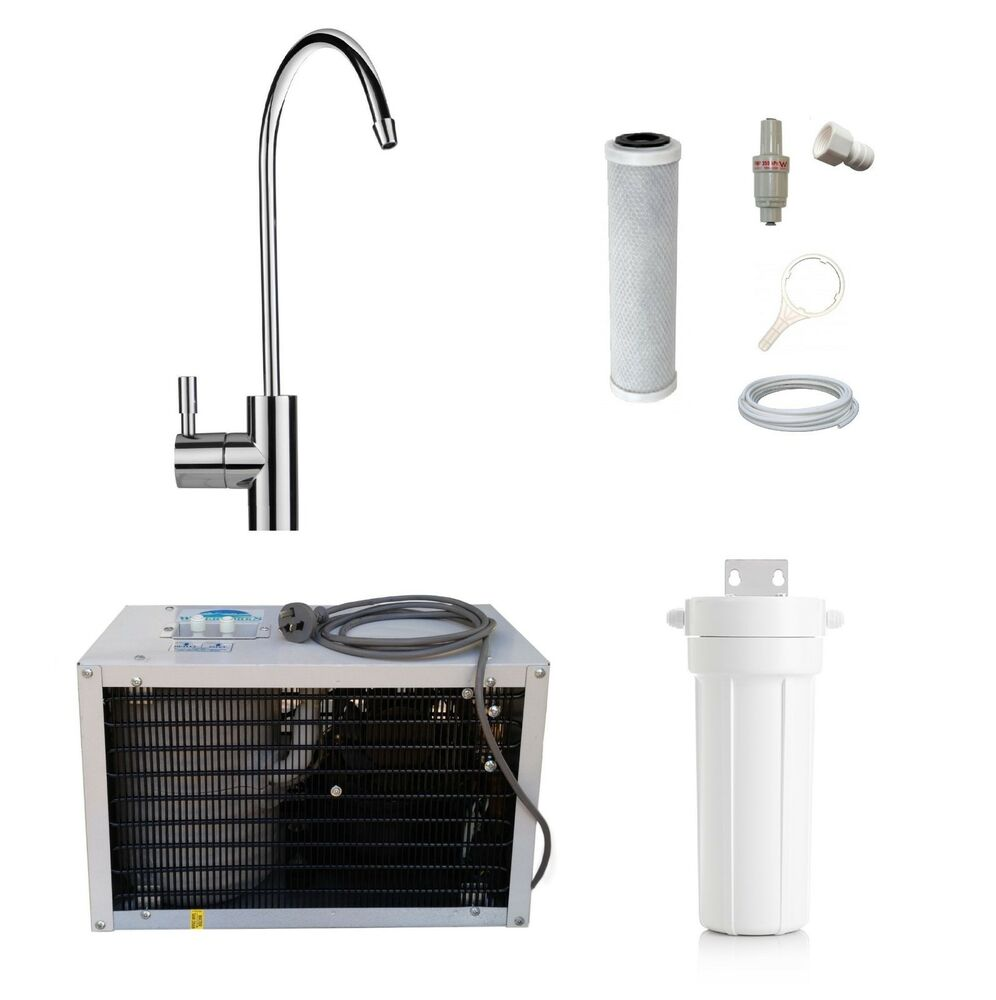 Chilled Water Tap Undersink Remote Chiller Unit Amp Twin