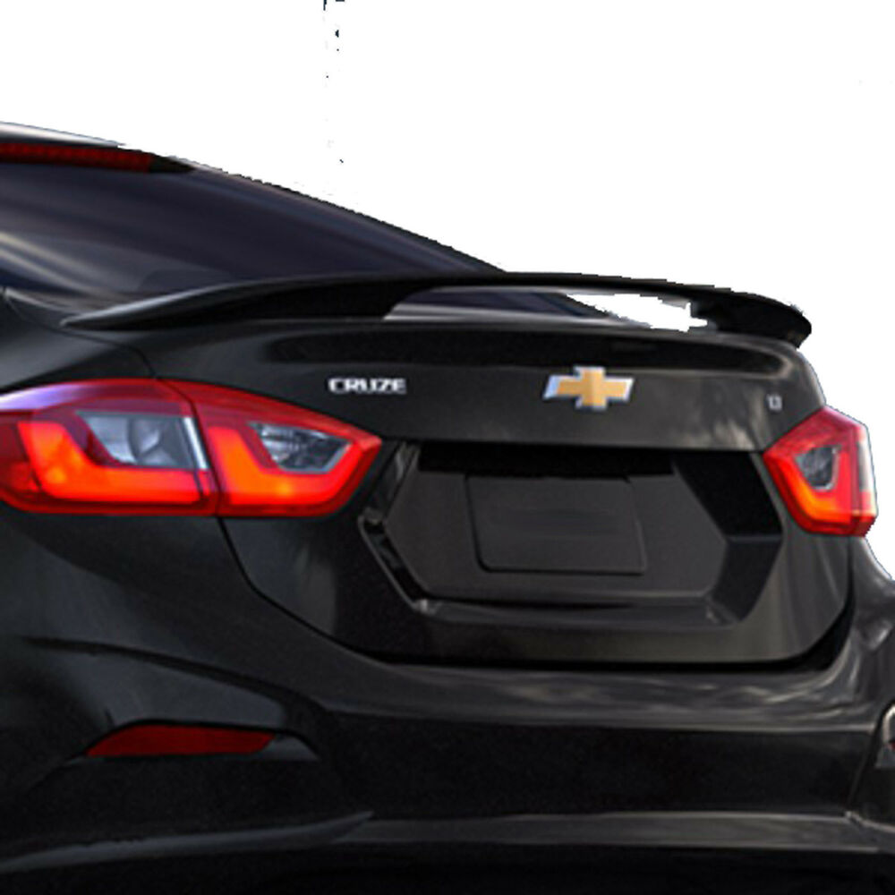 Chevrolet Cruze Trunk PAINTED CHEVROLET CRUZE FACTORY STYLE REAR WING SPOILER ...