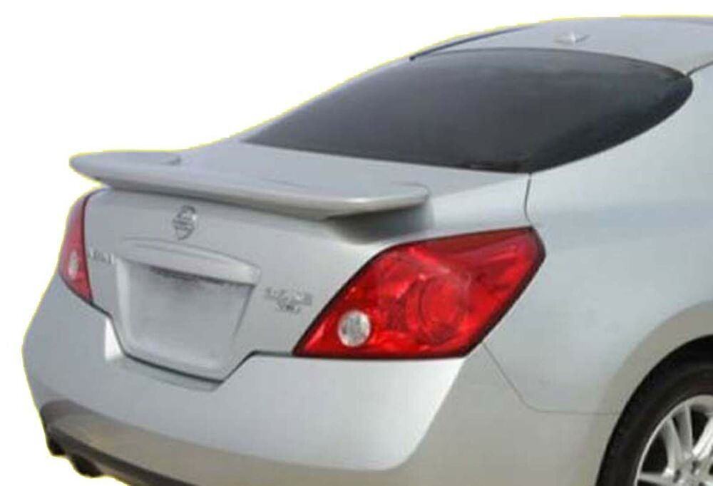 painted rear spoiler for a nissan altima 2 door coupe. Black Bedroom Furniture Sets. Home Design Ideas