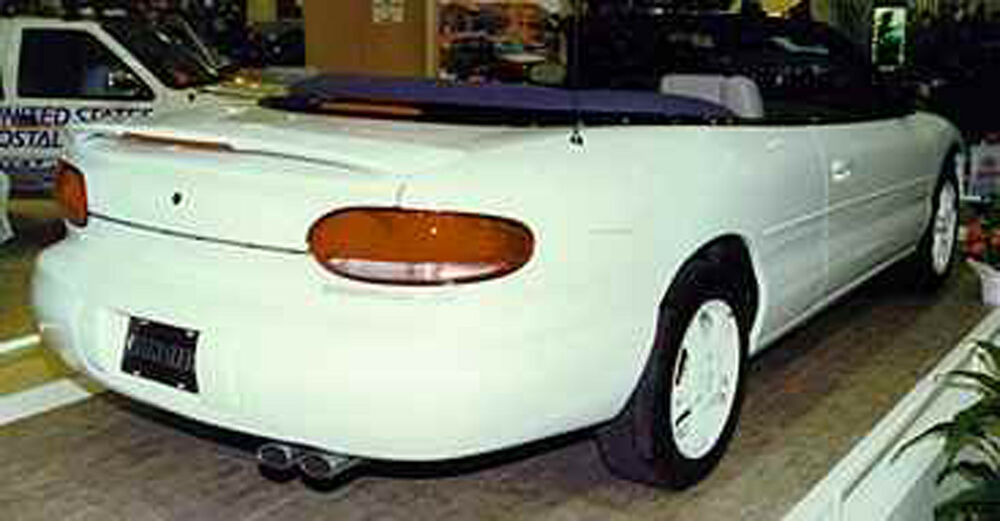 Details About Painted To Match Chrysler Sebring Convertible Custom Style Spoiler 1995 2000