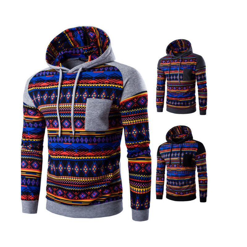 Details about Retro Indian Style Men s Hoodie Sweater Sweatshirt Jacket  Pullover Top Jumpers a12a28890