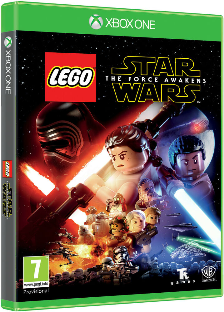 Lego Games For Xbox 1 : Lego star wars the force awakens xbox one ebay