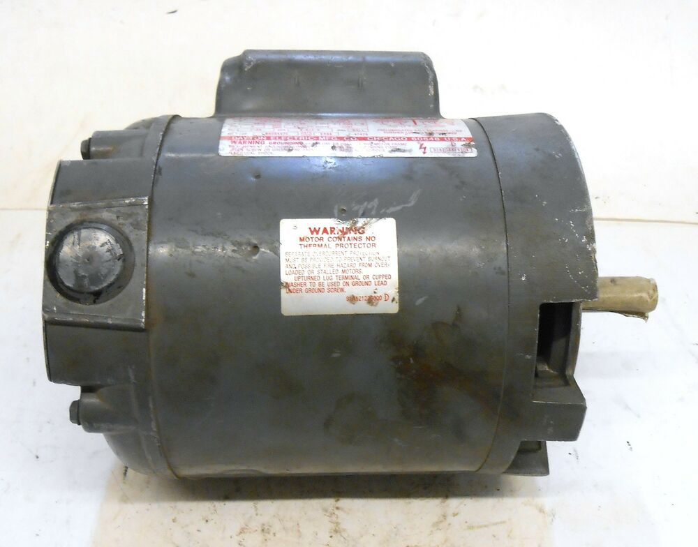 Dayton Capacitor Start Motor 6k974c 1 4 Hp Rpm 1725 Ebay