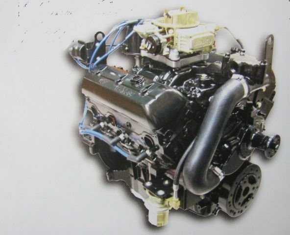 Mercruiser 4.3 Vortec Engine, Plug 'N' Play, Holley 600 ...
