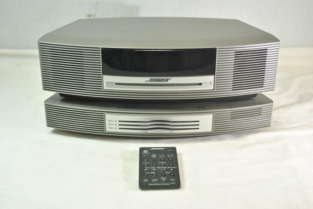 bose wave music system with multi cd changer accessory ebay. Black Bedroom Furniture Sets. Home Design Ideas