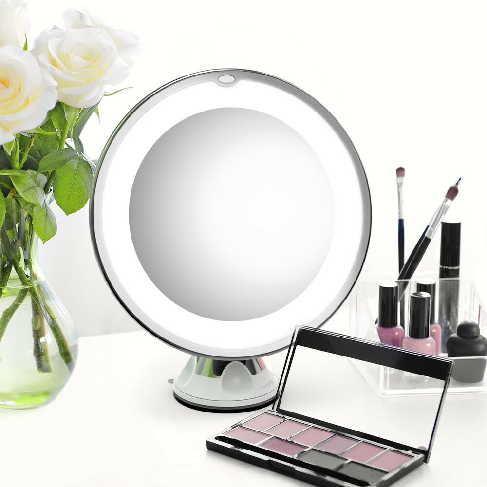 7x Magnifying Makeup Cosmetic Mirror Led Lighted Portable
