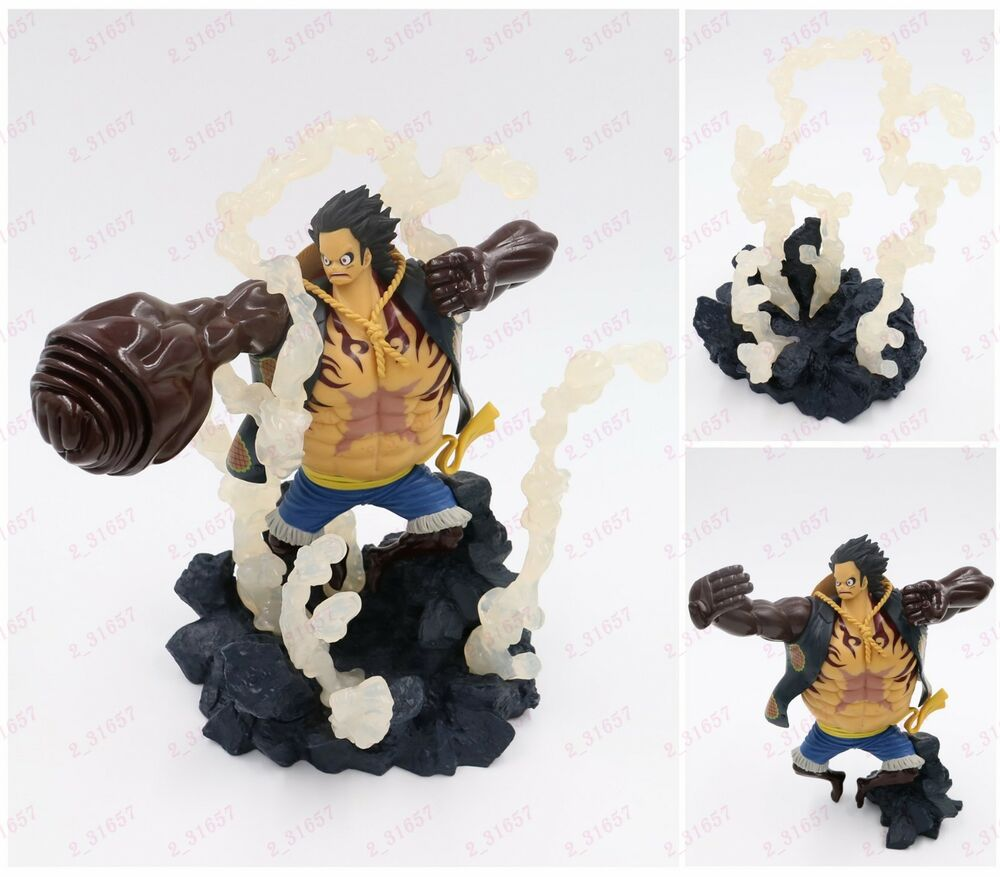 Anime One Piece Characer Luffy Gear 4 Fourth Pvc Figure