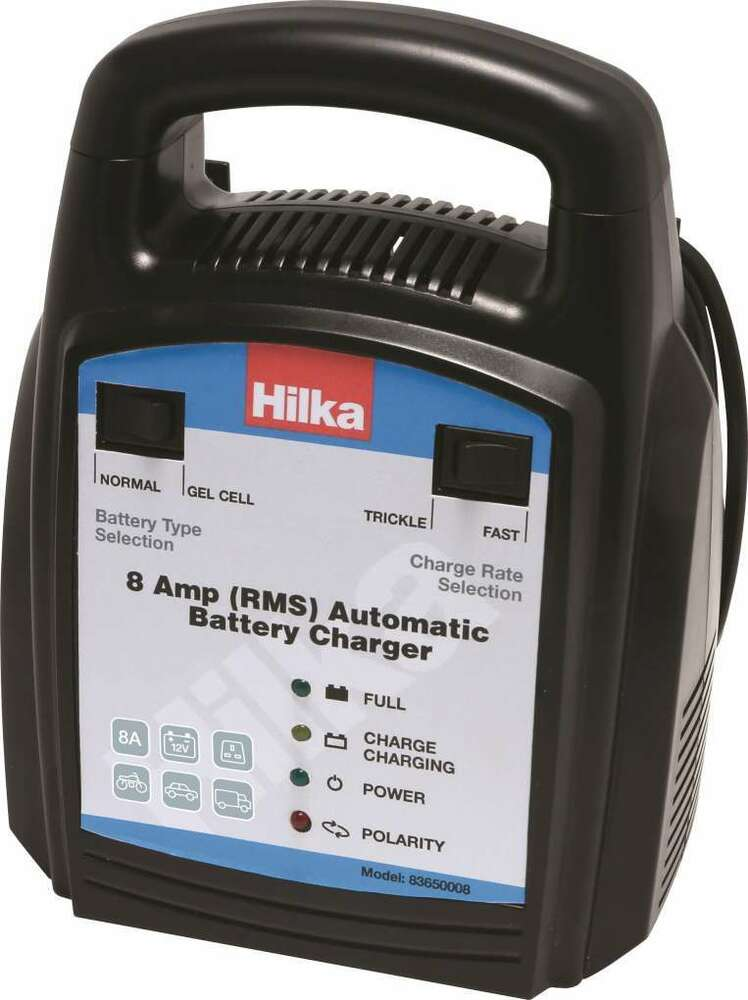 Hilka Car Battery Charger