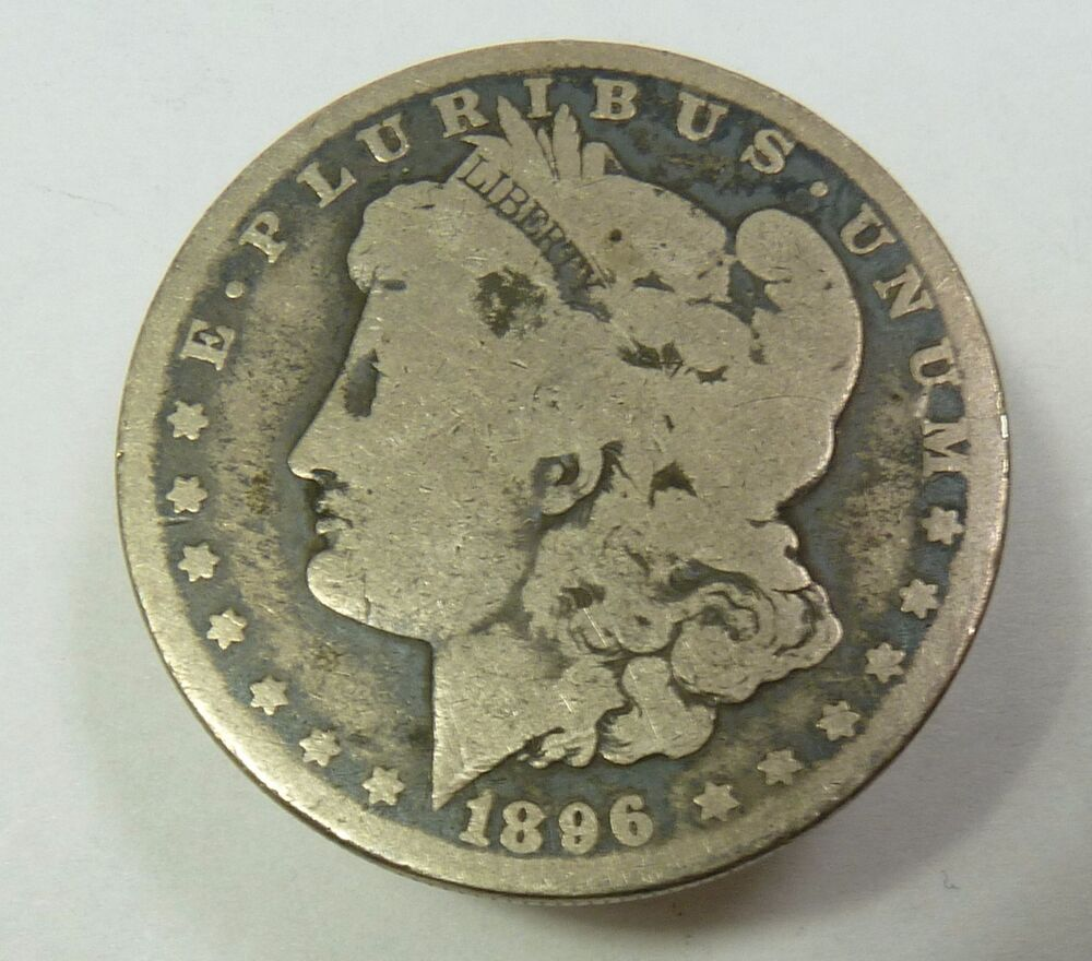 1896 O Silver Morgan Dollar 1 Us Coin Item 9116 Ebay
