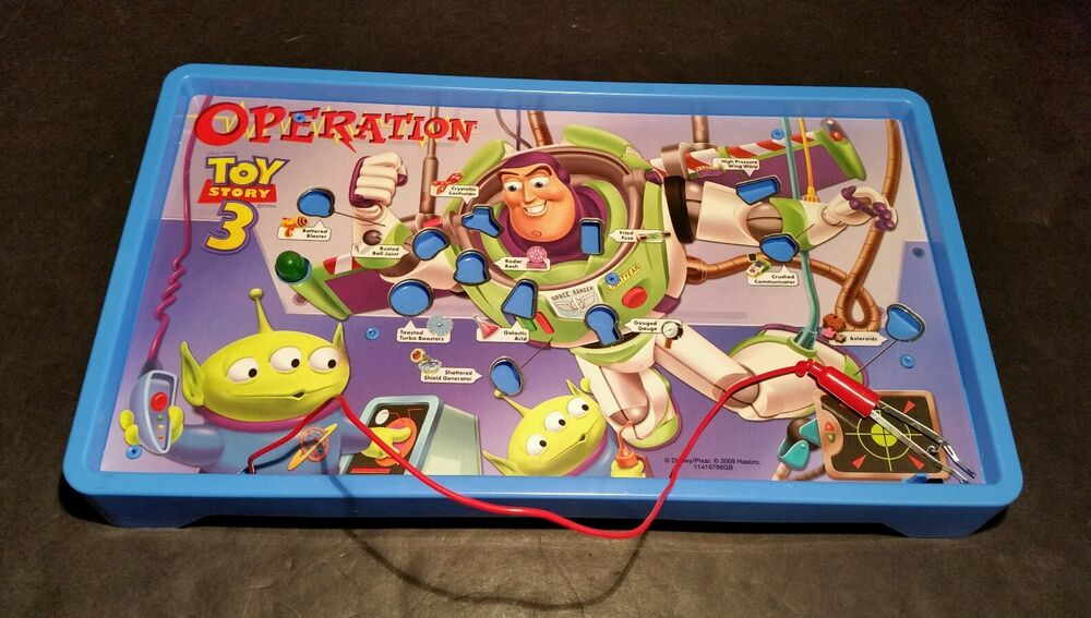 Board Games Toy : Hasbro toy story operation replacement parts electronic
