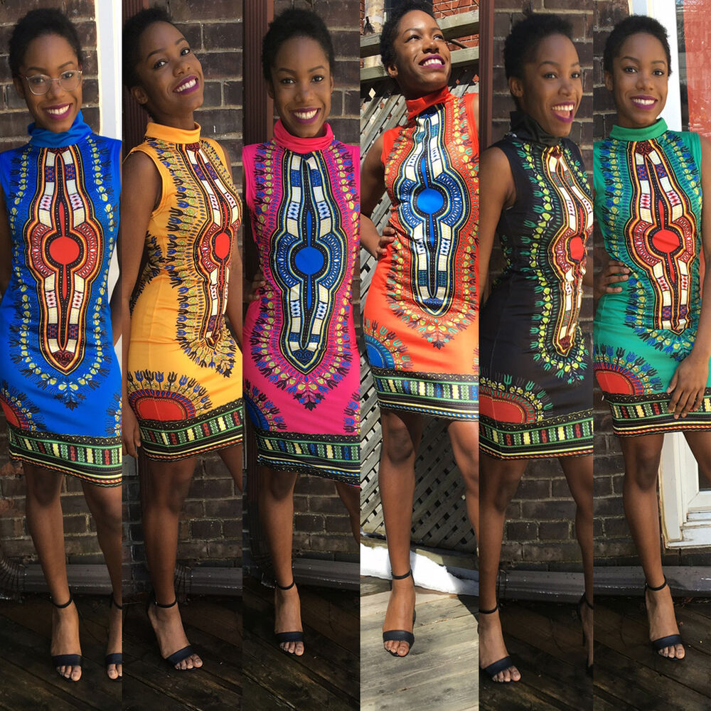 Dashiki Dresses Traditional African Dress For Women