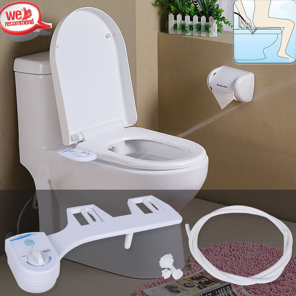 Adjust Angle Nozzle No-Electric Toilet Seat Attachment