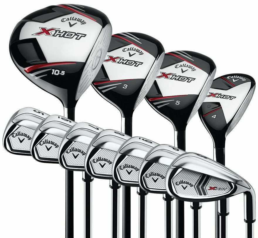 Callaway X-HOT Distance Explosive 11-Piece Golf Club Set ... Callaway Golf Club Set